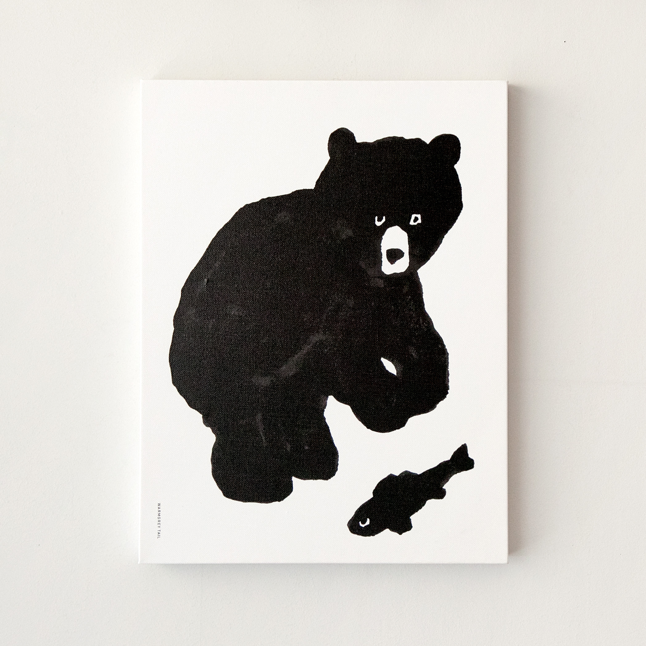 BLACK BEAR CANVAS