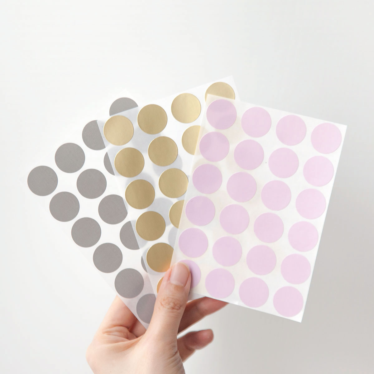 Croma label Dot Color Sticker