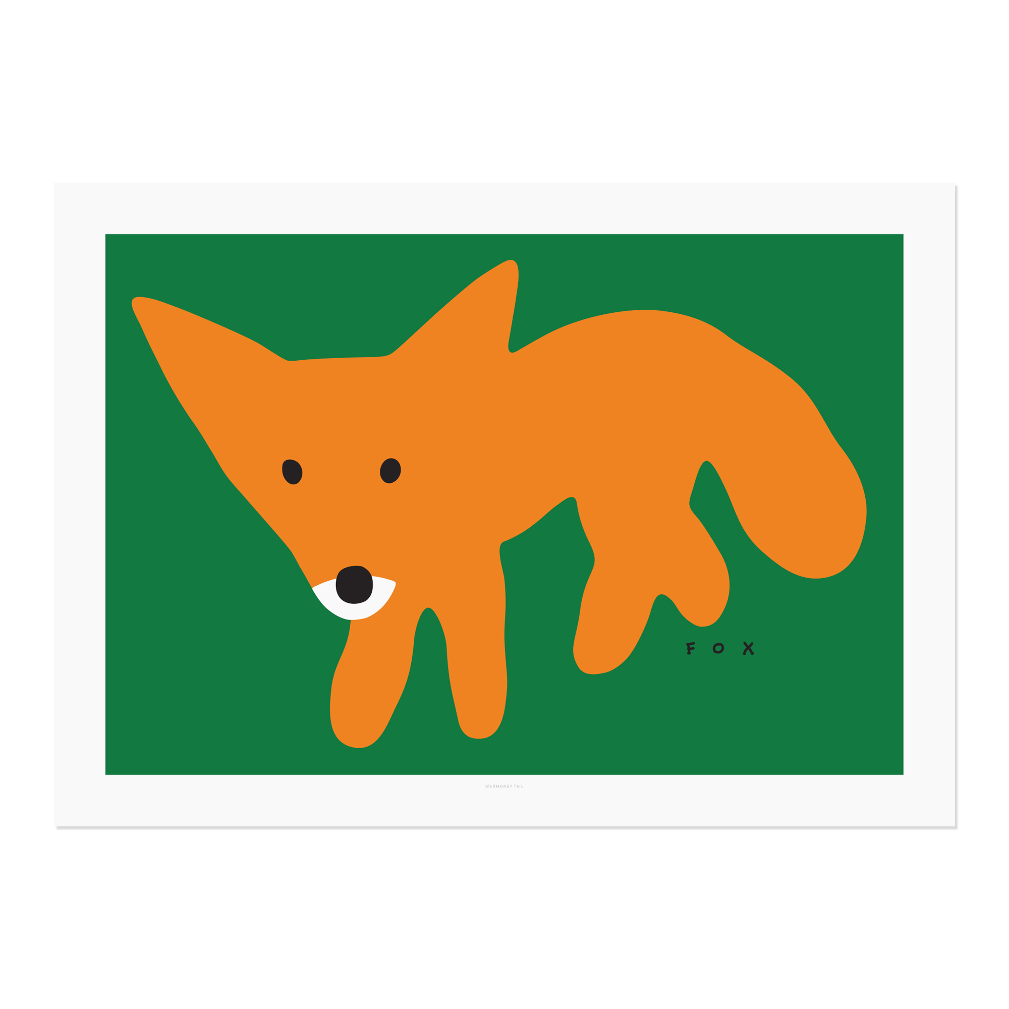 RED FOX-GREEN