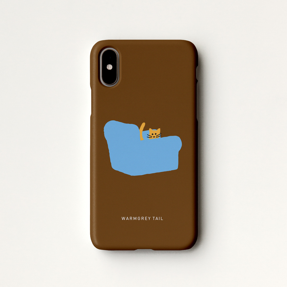 Armchair - Chocolate Phone Case