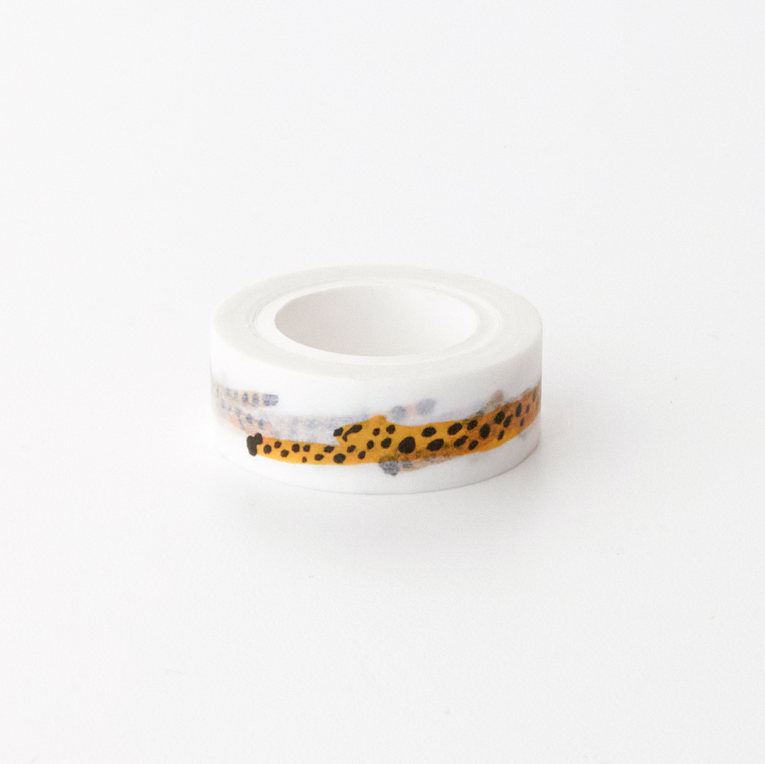 RUN CHEETAH RUN MASKING TAPE